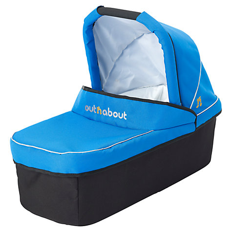 Buy Out 'N' About Nipper Single Carrycot, Lagoon Blue Online at johnlewis.com