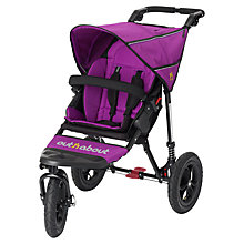 Buy Out 'N' About Nipper 360 Single V3 Pushchair, Purple Punch Online at johnlewis.com