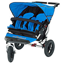 Buy Out 'N' About Nipper 360 Double Pushchair, Blue Online at johnlewis.com