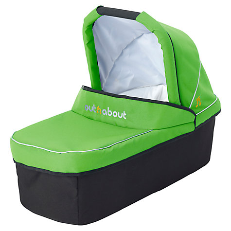 Buy Out 'N' About Nipper Single Carrycot, Mojito Green Online at johnlewis.com