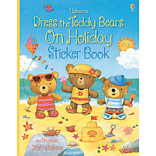 Buy Dress The Teddy Bears on Holiday Sticker Book Online at johnlewis.com