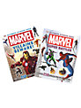Marvel Heroes and Villains Ultimate Sticker Book, Pack of 2