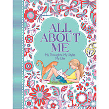 Buy All About Me Journal Online at johnlewis.com