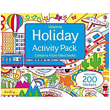 Buy Usborne Holiday Activity Pack Online at johnlewis.com