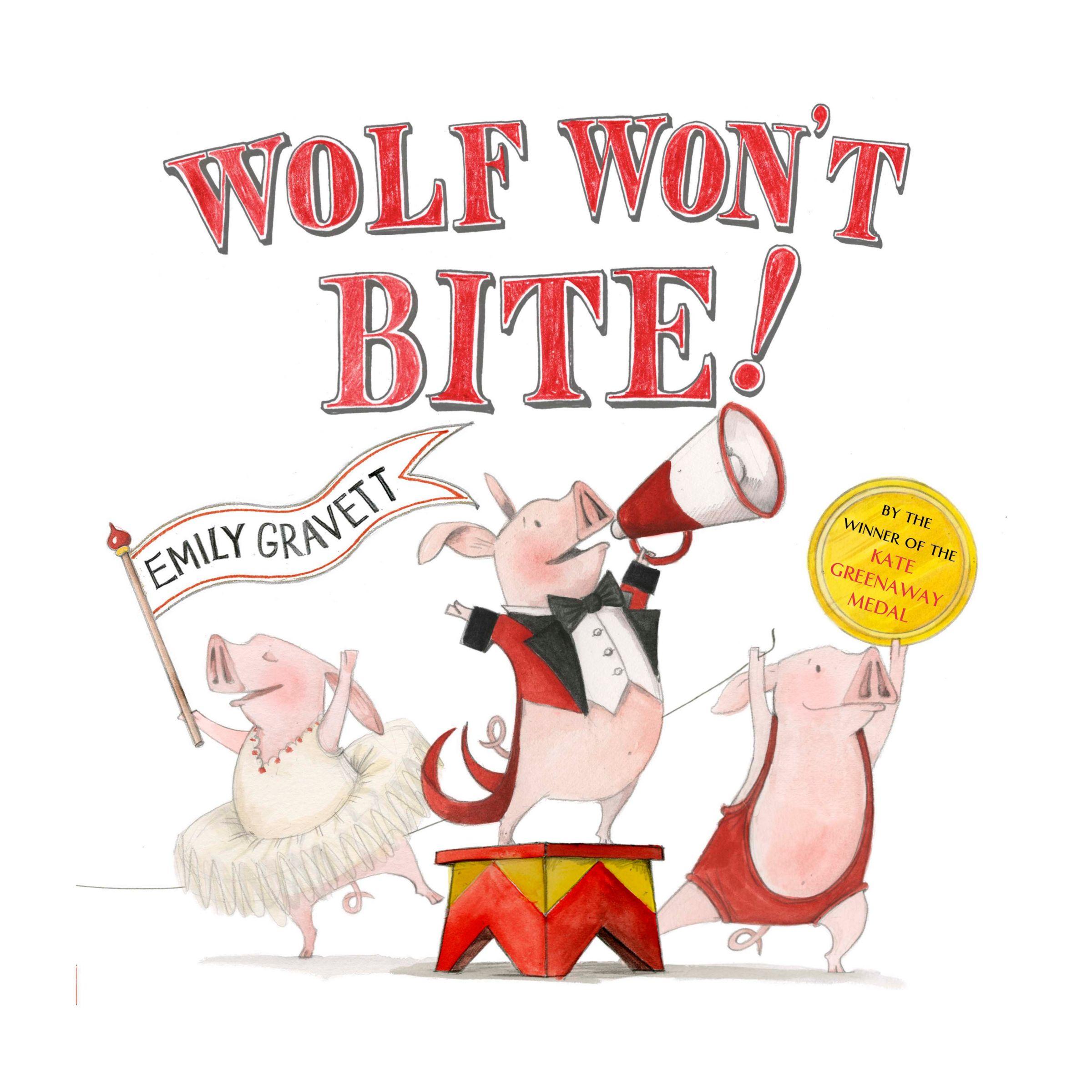 Macmillan Wolves Won't Bite Book