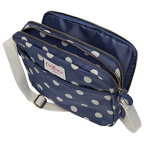 Buy Cath Kidston Button Spot Bag for iPad, Royal Blue Online at johnlewis.com
