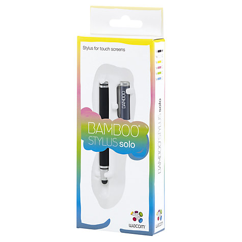 Buy Wacom Bamboo Stylus Solo 3, Grey Online at johnlewis.com