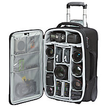 Buy Lowepro Pro Roller x200 AW Trolley Camera Bag, Black Online at johnlewis.com