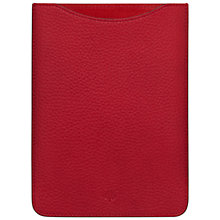 Buy Mulberry Simple Leather iPad Sleeve Online at johnlewis.com