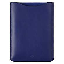 Buy Mulberry Simple Leather Sleeve for iPad mini Online at johnlewis.com