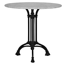 Buy John Lewis Auxerre Carrara Marble Top Round Table Online at johnlewis.com