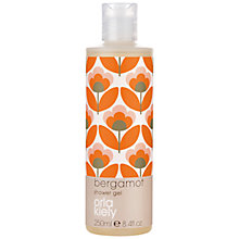 Buy Orla Kiely Bergamot Shower Gel, 250ml Online at johnlewis.com