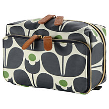 Buy Orla Kiely Fashion Print Wash Bag, Black / White Online at johnlewis.com