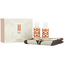 Buy Orla Kiely Bergamot Mini Bath & Face Set Online at johnlewis.com
