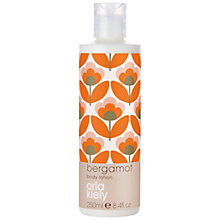 Buy Orla Kiely Bergamot Body Lotion, 250ml Online at johnlewis.com