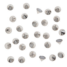 Buy John Lewis Hot Fix 8mm Cone Studs, Pack of 50 Online at johnlewis.com