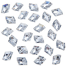Buy John Lewis DIY Irregular Sew-on Gems, 18x13mm, Pack of 30, Clear Online at johnlewis.com