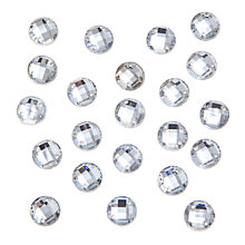 Buy John Lewis Sew-On Round Gems, Pack of 50, 8mm Online at johnlewis.com