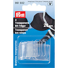 Buy Prym Transparent Bra Straps, Pack of 2 Online at johnlewis.com