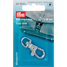 Buy Prym Bag Snap Hook, Silver Online at johnlewis.com