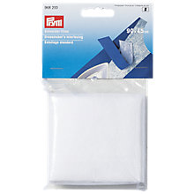 Buy Prym Dressmaker's Interfacing, White Online at johnlewis.com