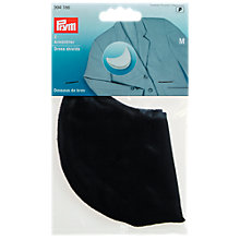 Buy Prym Dress Shields, Pack of 2, Black Online at johnlewis.com