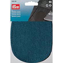 Buy Prym Denim Patches, Pack of 2, Medium Blue Online at johnlewis.com