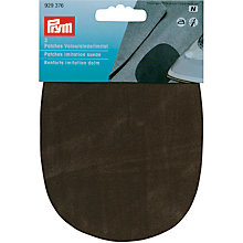 Buy Prym Faux Suede Iron-On Patch, Olive Online at johnlewis.com