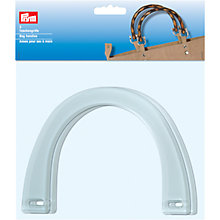 Buy Prym Nina Bag Handles, Pack of 2, Clear Online at johnlewis.com