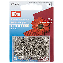 Buy Prym Mild Steel Pins, 16mm, 25g Online at johnlewis.com