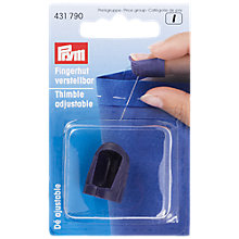 Buy Prym Adjustable Thimble Online at johnlewis.com
