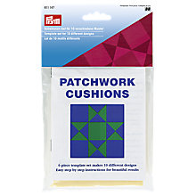 Buy Prym Patchwork Cushions Template Online at johnlewis.com