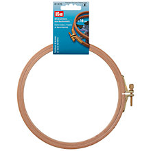 Buy Prym Embroidery Frame, 8mm x 155mm Online at johnlewis.com