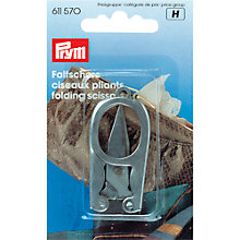 Buy Prym Folding Scissors, 8cm, Silver Online at johnlewis.com