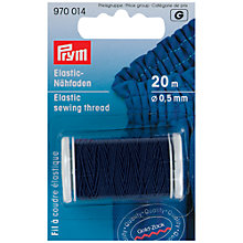 Buy Prym Elastic Sewing Thread, 0.5mm Online at johnlewis.com