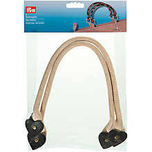 Buy Prym Clara Bag Handles, Pack of 2, Beige/Brown Online at johnlewis.com