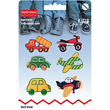 Buy Prym Vehicles Applique, Pack of 6 Online at johnlewis.com