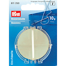 Buy Prym Satin Cord, 3mm, White Online at johnlewis.com