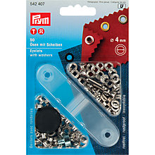 Buy Prym Eyelets with Washers, 4mm, Pack of 50 Online at johnlewis.com