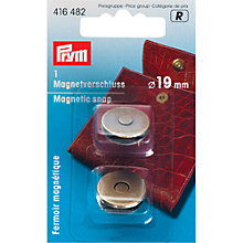 Buy Prym Magnetic Snap, 19mm Online at johnlewis.com