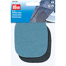 Buy Prym Denim Patches, 9 x 8cm, Blue Online at johnlewis.com