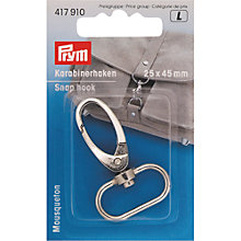 Buy Prym Snap Hook, 25mm Online at johnlewis.com