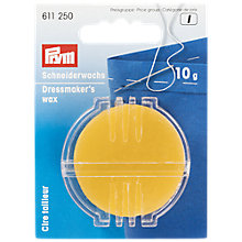 Buy Prym Beeswax with Holder, 10g Online at johnlewis.com