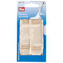 Buy Prym Bra Strap Cushions, Pack of 2, Nude Online at johnlewis.com