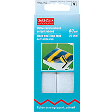 Buy Prym Self-Adhesive Hook and Loop Tape, 60cm Online at johnlewis.com