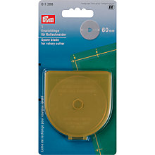 Buy Prym Spare Rotary Blade, Jumbo 60mm Online at johnlewis.com