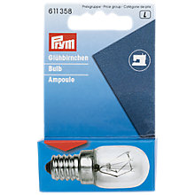 Buy Prym Sewing Machine Screw-fit Bulb Online at johnlewis.com