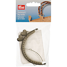 Buy Prym Linada Bag Fastening, Dark Silver Online at johnlewis.com