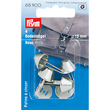 Buy Prym Base Nails for Bags, 15mm, Pack of 4, Silver Online at johnlewis.com