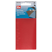 Buy Prym Nylon Patches, 10x18cm, Red Online at johnlewis.com